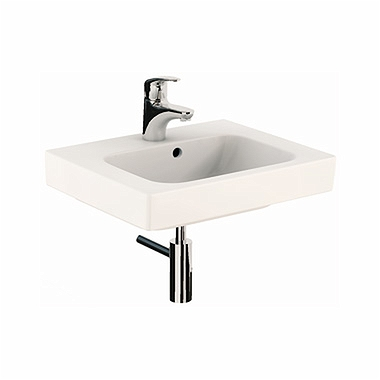 MODO washbasin 50 cm, with tap hole, with overflow