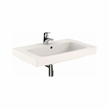 MODO washbasin 80 cm, with tap hole, with overflow