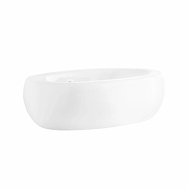 OVUM-by-Antonio-Citterio-lay-on-washbasin-60-cm-without-tap-hole-with-overflow