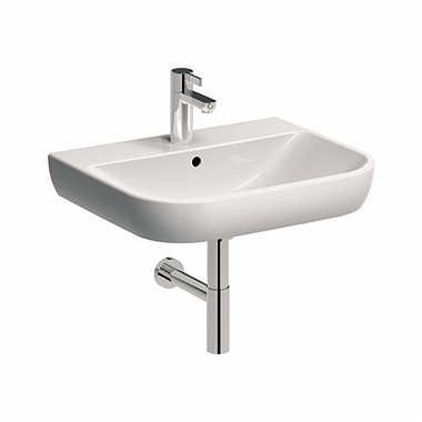 TRAFFIC 60 cm Washbasin with tap hole, with overflow