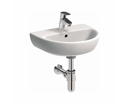 NOVA PRO 45 cm Washbasin with tap hole, with overflow