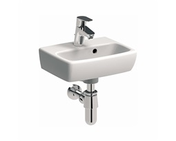 NOVA PRO 36 cm Rectangular washbasin with tap hole, with overflow