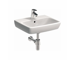 NOVA PRO 50 cm Rectangular washbasin with tap hole, with overflow