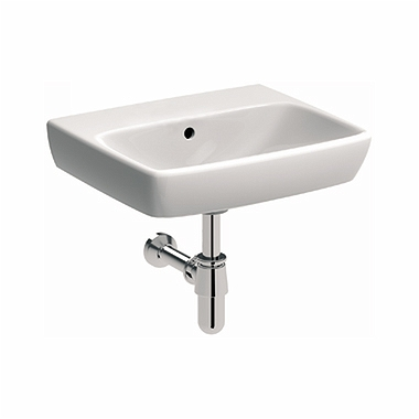 NOVA PRO 50 cm Rectangular washbasin without tap hole, with overflow