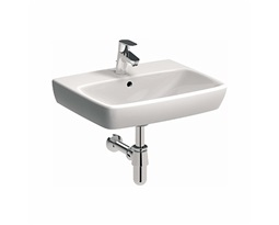 NOVA-PRO-55-cm-Rectangular-washbasin-with-tap-hole-with-overflow