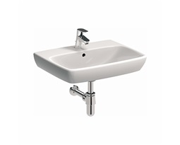 NOVA PRO 60 cm Rectangular washbasin with tap hole, with overflow