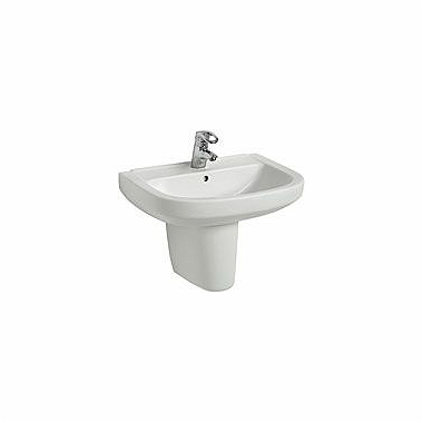 PRIMO 60 cm washbasin with tap hole, with overflow