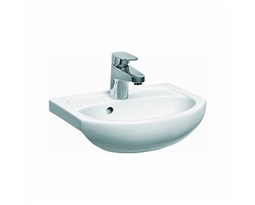 SOLO Furniture washbasin 40 cm, with tap hole, with overflow