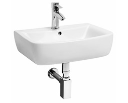 PIANO 50 cm Furniture washbasin with tap hole, with overflow