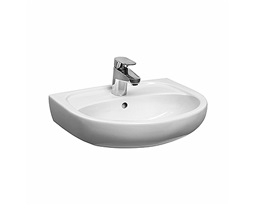 SOLO 50 cm furniture washbasin, with tap hole, with overflow