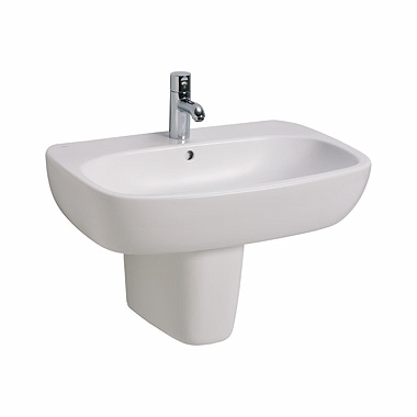 STYLE 70 cm washbasin with tap hole, with overflow