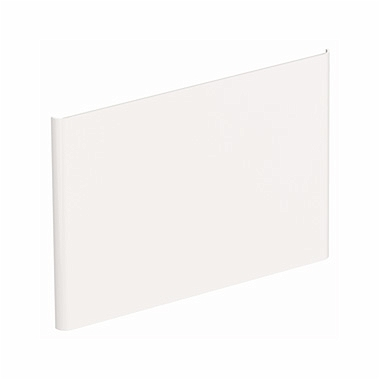 NOVA PRO Wall panel for washbasin 60 cm, white glossy