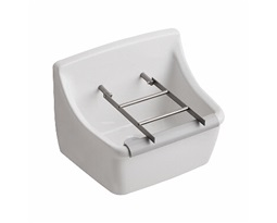 Grate sink, stainless steel