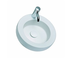 COCKTAIL round lay-on, washbasin Ø 45 cm, with tap hole, without overflow