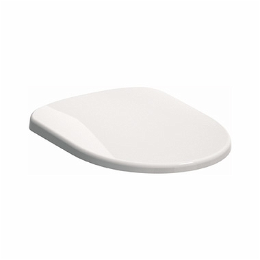 NOVA PRO Oval toilet seat, hard, made of Duroplast, soft-close