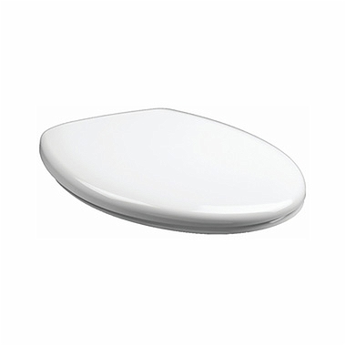 REKORD Optima toilet seat, hard, soft-close, Click2Clean hinges