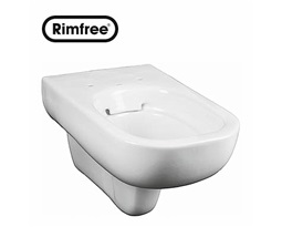 TRAFFIC wall hung Rimfree pan without an inner rim