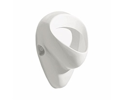 NOVA PRO FELIX urinal, rear inlet, horizontal outflow