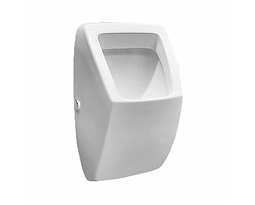 PAREO urinal, rear inlet, horizontal outflow