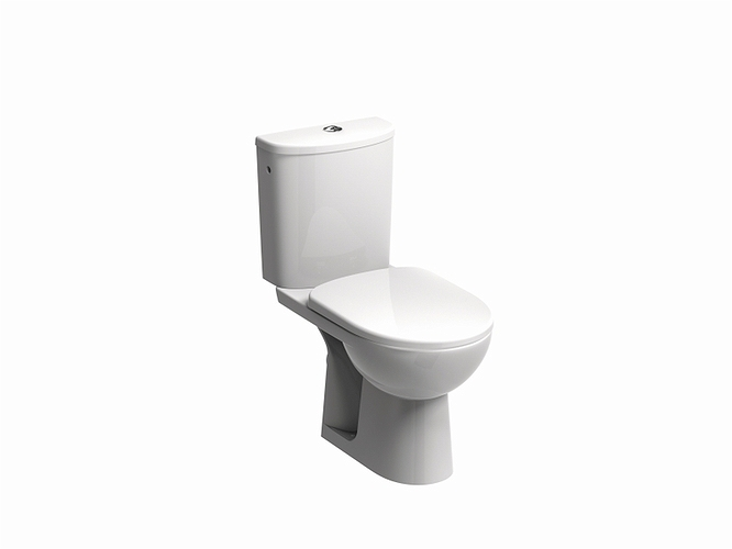 NOVA PRO WC pack, horizontal outflow, oval cistern 6/3 l
