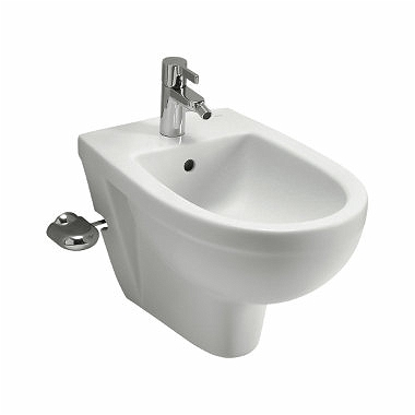 PRIMO Wall hung bidet with tap hole