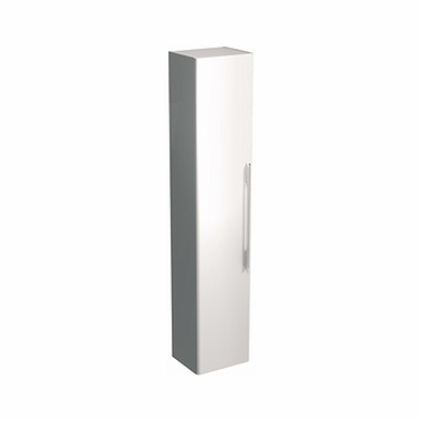 TRAFFIC 180 cm Tall side cabinet, white glossy