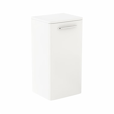 NOVA PRO 65,3 cm Low side cabinet, white glossy