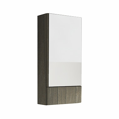 NOVA PRO 41,8 cm Side cabinet with mirror, grey ash