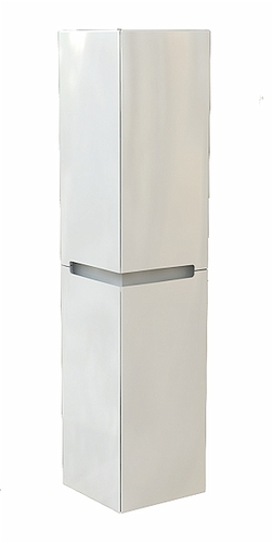 MODO 150 cm High side cabinet, white glossy