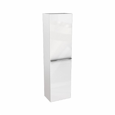 OVUM/EGO by Antonio Citterio 150 cm High side cabinet, white glossy