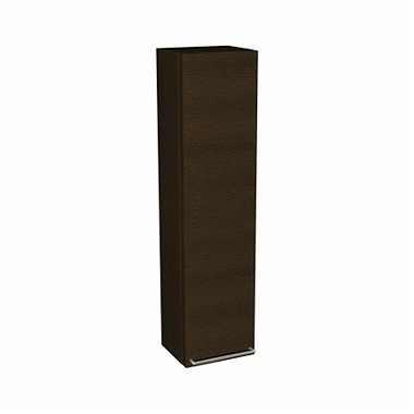 DOMINO front to the 120 cm Upper side cabinet, left or right, wenge, with handle