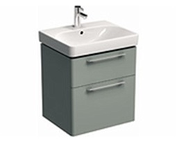 TRAFFIC 56,8 cm Washbasin cabinet, light grey glossy