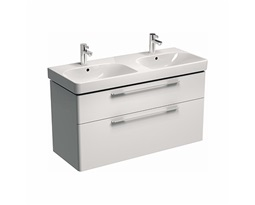 TRAFFIC-1168-cm-Washbasin-cabinet-white-glossy