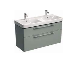 TRAFFIC-1168-cm-Washbasin-cabinet-light-grey-glossy