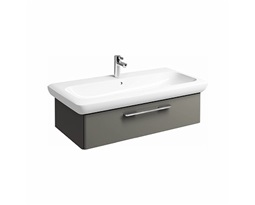 LIFE! 90 cm Washbasin cabinet, warm grey