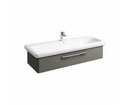 LIFE! 120 cm Washbasin cabinet, warm grey
