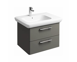 LIFE! 60 cm Washbasin cabinet, warm grey