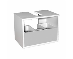 DOMINO body to the universal cabinet with drawer 50 cm, white glossy