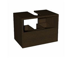 DOMINO body to the universal cabinet with drawer 50 cm, wenge
