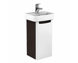REKORD-Washbasin-cabinet-31-x-591-x-262-cm-universal-right-and-left-white-glossywenge