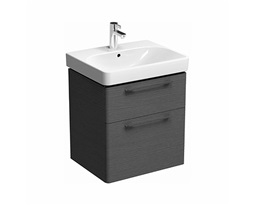 Washbasin-cabinet-with-2-drawers-TRAFFIC-568-x-625-x-461-cm-grey-oak