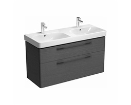 Washbasin-cabinet-with-4-drawers-TRAFFIC-1168-x-625-x-461-cm-grey-oak