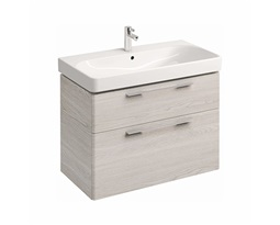 Washbasin-cabinet-with-2-drawers-TRAFFIC-868-x-625-x-461-cm-white-ash