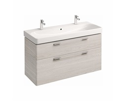 Washbasin-cabinet-with-4-drawers-TRAFFIC-1168-x-625-x-461-cm-white-ash