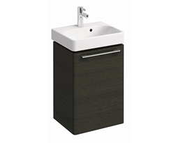 Washbasin-cabinet-with-door-TRAFFIC-434-x-625-x-349-cm-grey-oak