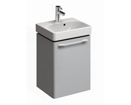 TRAFFIC-434-cm-Washbasin-cabinet-light-grey-glossy