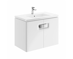 TWINS-Wall-hung-washbasin-cabinet-80-cm-with-one-door