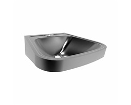 53 cm Washbasin with a tap hole, without overflow