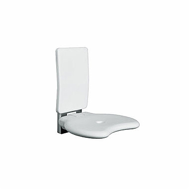 LEHNEN EVOLUTION Shower seat with backrest