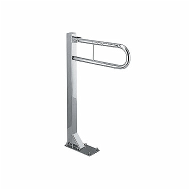 LEHNEN FUNKTION U-shaped hinged handle, floor mounted 550 mm, matt